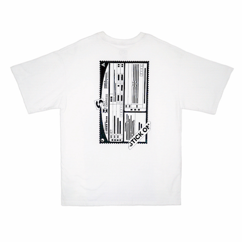 [Amoeba Culture] 'Stick ON' T-Shirt_White 썸네일